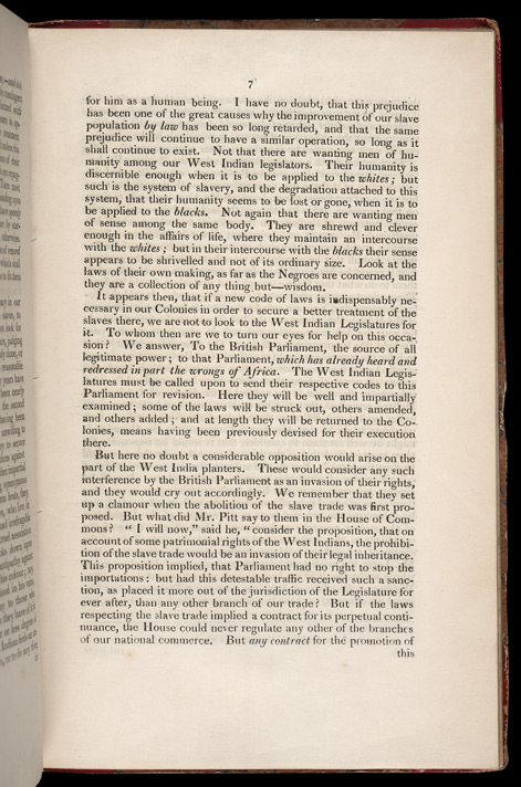 Improving The Condition Of The Slaves In The British Colonies -Page 7
